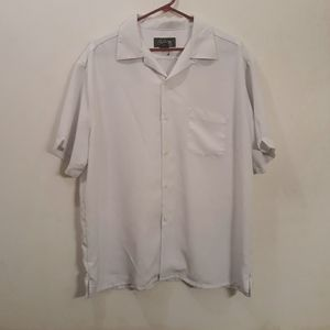 90's City Streets White Button Down T-Shirt
